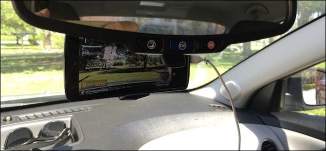 How To Turn An Old Smartphone Into A Dash Cam For Your Car