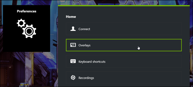 How to Hide NVIDIA's GeForce Experience In-Game Overlay Icons and