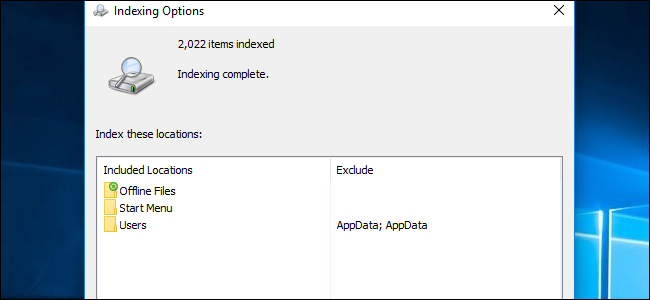 how to choose which files windows search indexes on your pc Options  Indexes options indexes wiring diagram