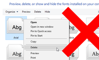 Uninstalling Fonts Probably Won't Speed Up Your PC or Mac