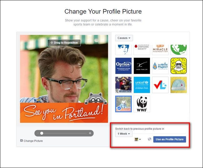 mls how to change profile pictyure
