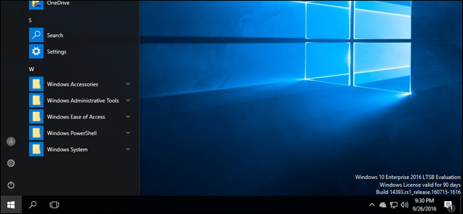 Windows 10 Without the Cruft: Windows 10 LTSB (Long Term Servicing