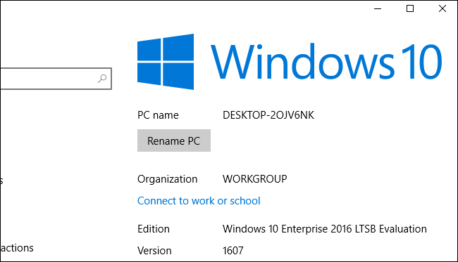 Windows 10 Without the Cruft: Windows 10 LTSB (Long Term