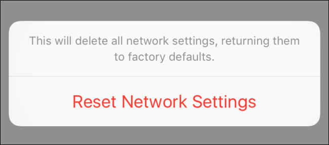 How to Reset Your iOS Device's Network Settings and Fix Connection