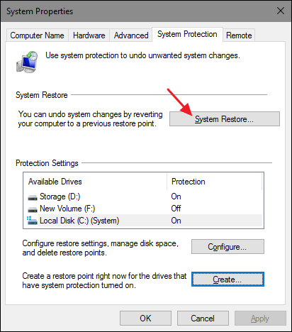 How to Use System Restore in Windows 7, 8, and 10