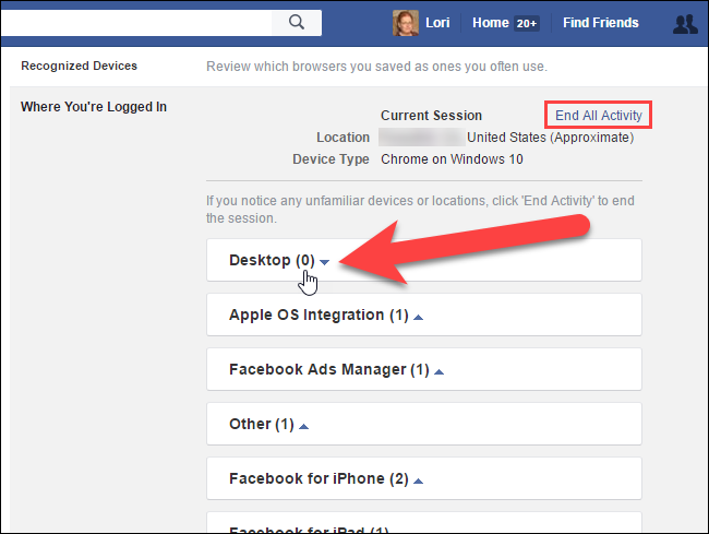facebook log in to my account new