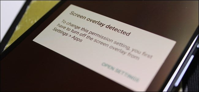 "How to Fix the ""Screen Overlay Detected"" Error on Android"
