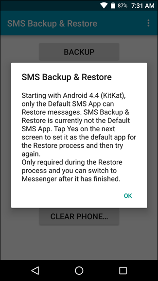 how to receive message from another phone