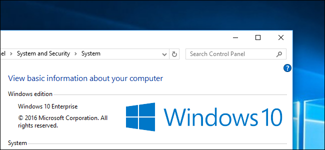 Windows 10 Enterpris