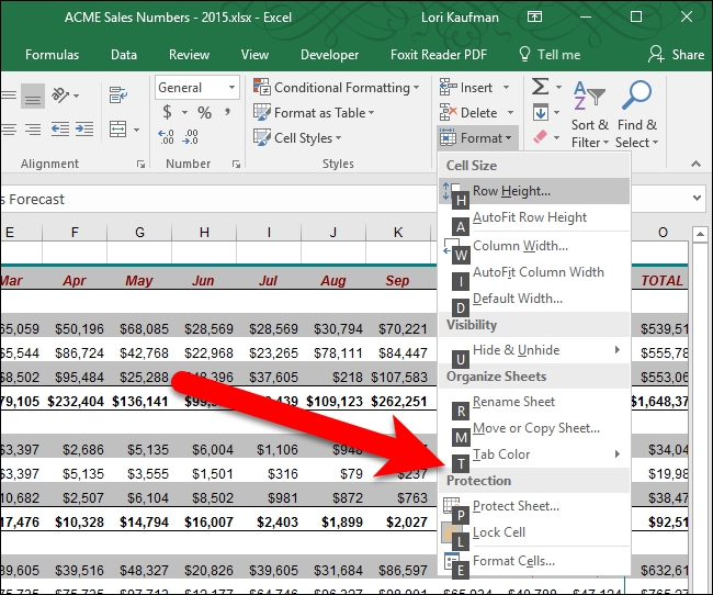 how to make tabs in excel