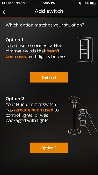 41d7cc574c1 How to Control Your Philips Hue Lights with the Hue Dimmer Switch