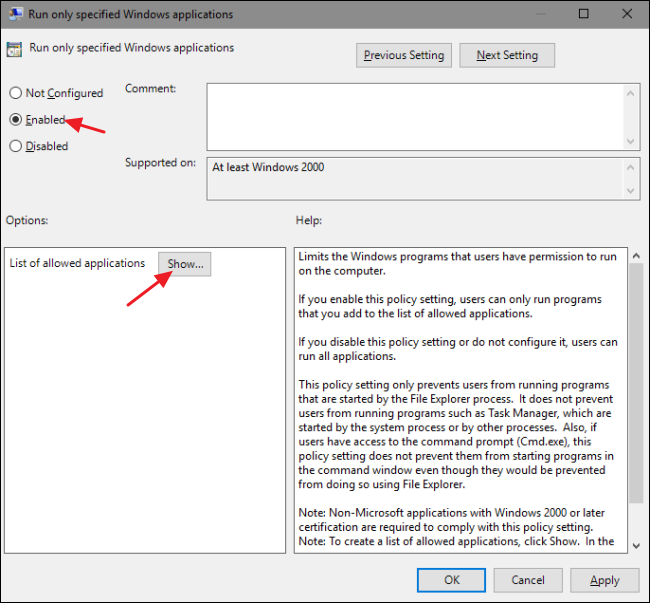 How to Block (or Allow) Certain Applications for Users in Windows