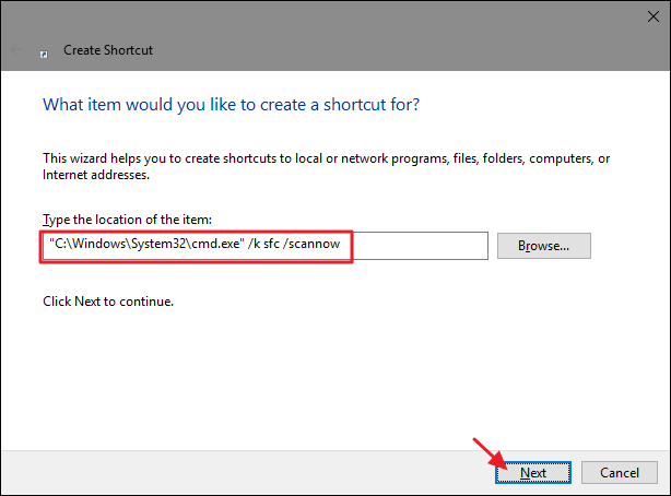 How to Run Command Prompt Commands from a Windows Shortcut