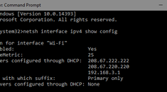 How to Change Your Computer's IP Address From the Command Prompt