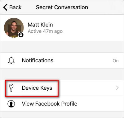 """de9951d03813 How to Encrypt Your Facebook Messages with """"Secret Conversation"""" Mode"""