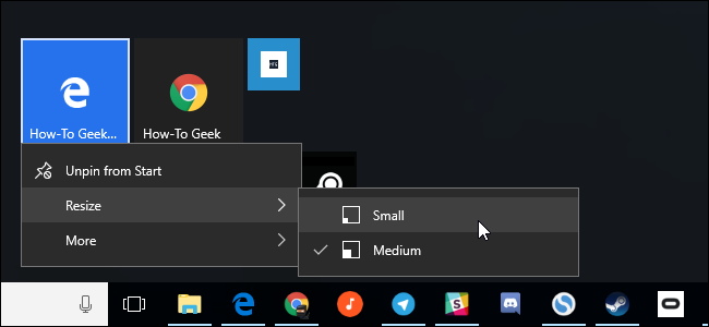 windows 10 how to add more tiles to start