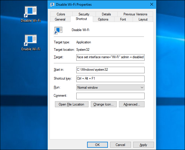 How to Turn Wi-Fi On or Off With a Keyboard or Desktop