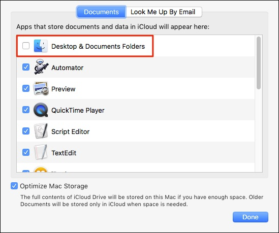 How to Sync Your Mac's Desktop and Documents to Other