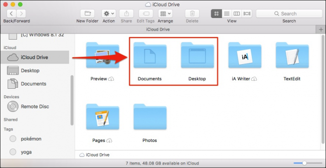 How to Sync Your Mac's Desktop and Documents to Other Devices with