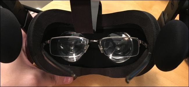 Can You Wear Glasses With an Oculus Rift or HTC Vive Headset?