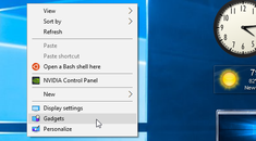 How to Add Gadgets Back to Windows 8 and 10 (and Why You Probably Shouldn't)