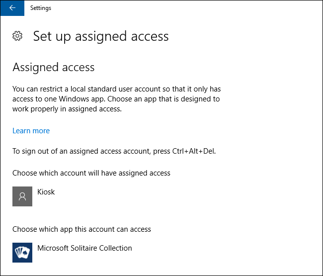 How to Easily Put a Windows PC into Kiosk Mode With Assigned