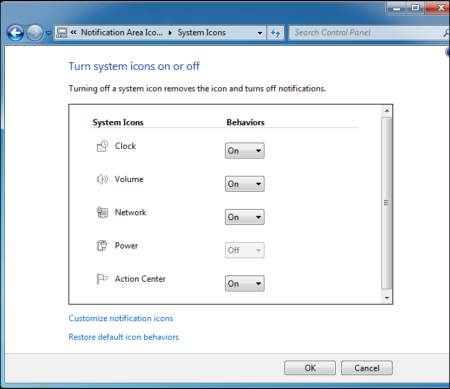 How to Customize and Tweak Your System Tray Icons in Windows
