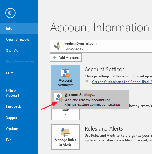 Outlook will open a File Explorer window showing the folder containing your PST  file (or OST file if you selected an account that uses one).