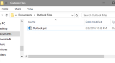 Where Are My Outlook PST Data Files, and How Can I Move Them Somewhere Else?
