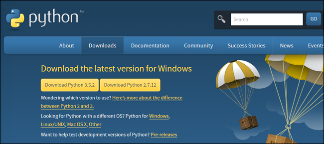pythondownload