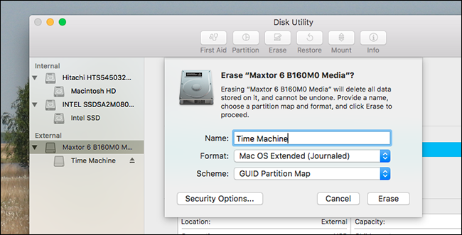 best external drive for mac time machine