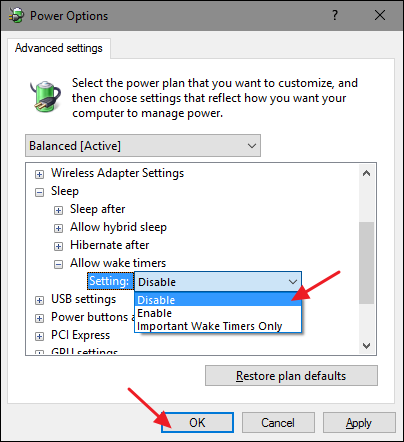 How to Prevent Your Computer From Waking Up Accidentally