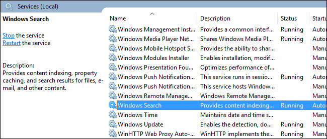 How to Disable Search In Windows