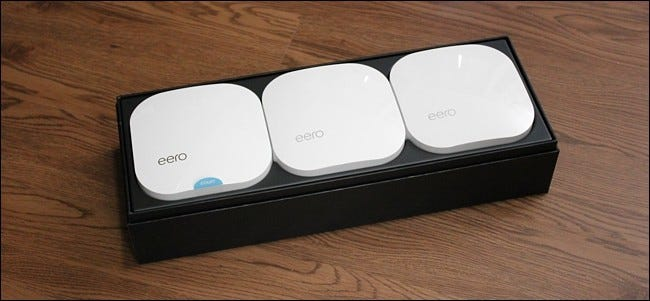 how to set up the eero home wi fi system