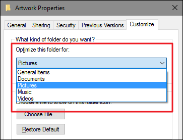 How to Customize Folder Views with Windows\' Five Templates