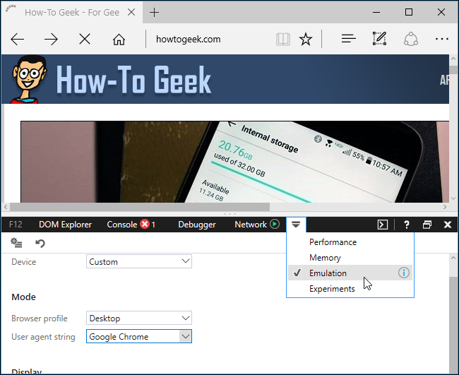 How to Change Your Browser's User Agent Without Installing