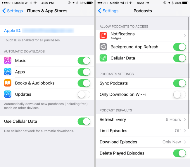 what uses data on iphone how to monitor and reduce your data usage on the iphone 18220