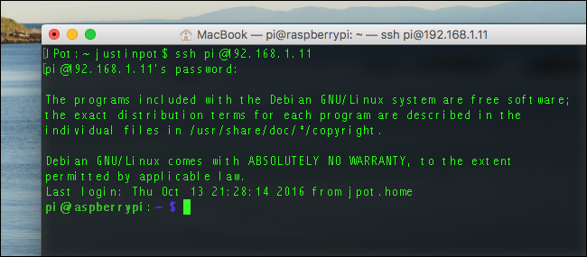 mac-raspberry-pi-ssh