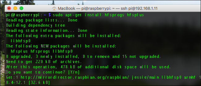 time-pi-install-hfs-plus