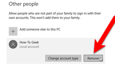How to Delete a User Account in Windows 7, 8, or 10