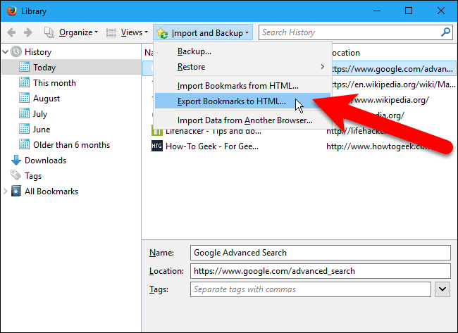 How to Easily Back Up and Migrate Your Browser Bookmarks