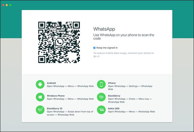 whatsapp app web