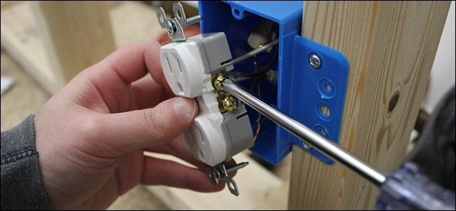 How to Replace an Outlet That's Controlled by a Light Switch Back Of Outlet Wiring Circuit on outlet insulation, outlet wiring connections, outlet wiring diagrams, outlet wiring design, outlet wiring voltage,