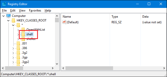 how to create reg file in notepad