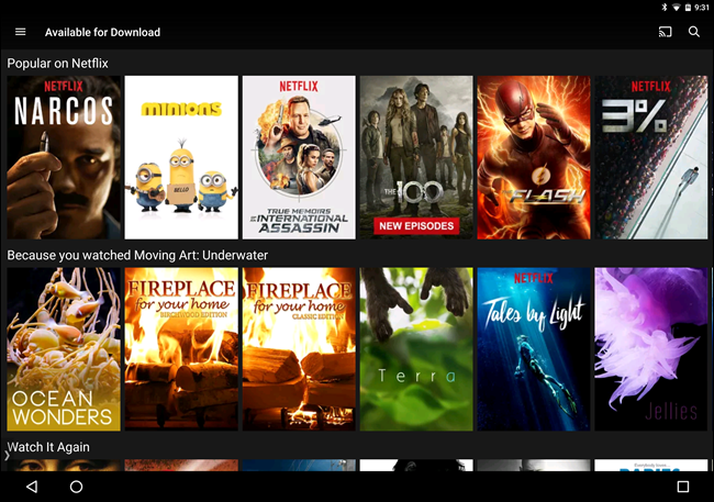 How to Download Movies and Shows From Netflix for Offline Viewing