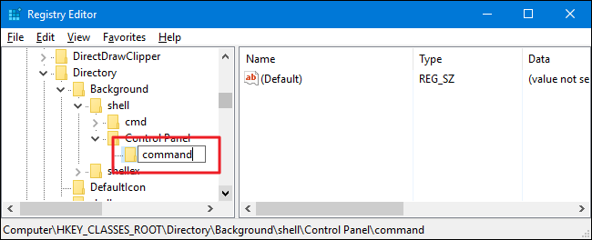 How to Add Control Panel to Windows' Context Menu