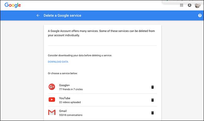 delete-google-service-gmail