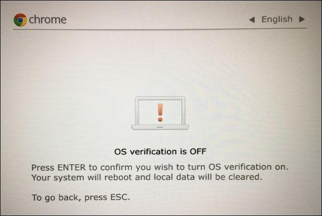 How to Restore Your Chromebook's Original BIOS and Software