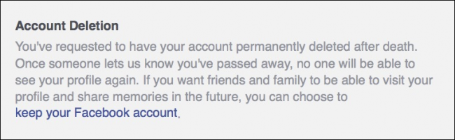 How to Set Your Facebook Account to Delete or Memorialize