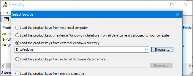 How to Recover Software Product Keys From Any Computer, Even a